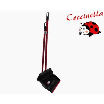Põrandahari+kühvel Coccinella poolpika varrega 8000798559331