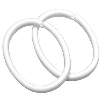 Vannikardinarõngad Clips valge 12tk