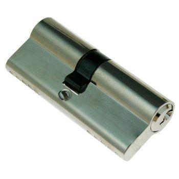 Lukusüdamik 70mm (35/35) väike nupp nikkel