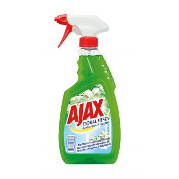 Aknapuhastusvahend Ajax Floral Fiesta Lily of Valley roheline 500ml