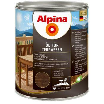 Alpina Öl für Terrassen 0,75L tume