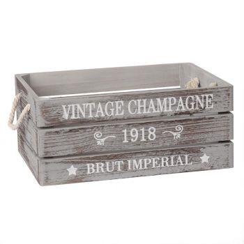 Puitkast Vintage-1 35x25xH15cm hall