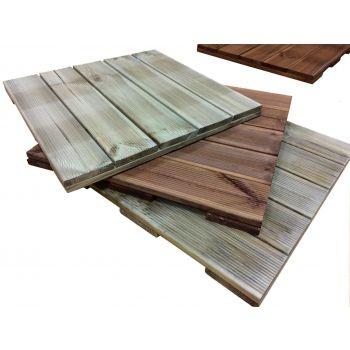 Terrassiplaat immutatud 50x50cm pruun