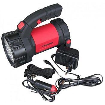 Laetav kandelamp Tiross LED15 + LED12 autolaadijaga TS-1105