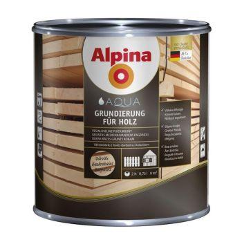 Alpina Aqua Grundierung für Holz 2,5L