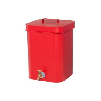 Veepaak kraaniga Ruut 10L punane