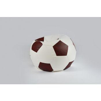 Kott-tool Jalgpall 190L valge + antiikpunane