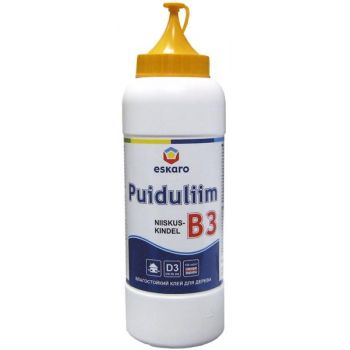 Niiskuskindel puiduliim B3 0,75l