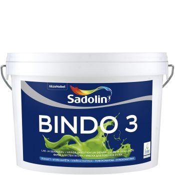 Seinavärv Sadolin Bindo 3 10L, täismatt, valge (BW)