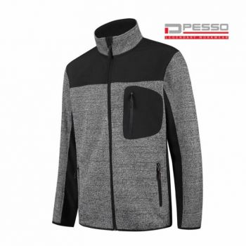 Softshell dressipluus Pesso Derby, kootud osaga, hall/must 2XL
