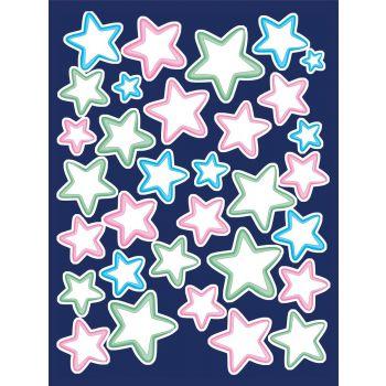 Kleebis helendavad tähed 30x40 5902066294605 LSNC255WS
