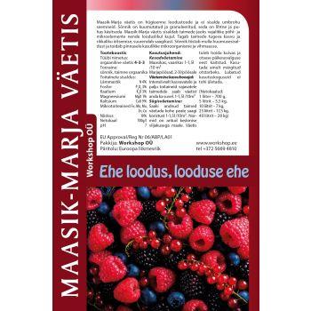 Maasik-marja väetis 3L