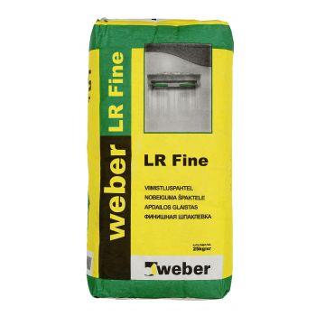 Viimistluspahtel Weber LR Fine 2kg