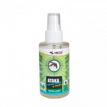 Sääse- ja puugitõrjevahend Ataka Mosquitoes & Ticks 100ml 4771315391072