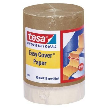 Kattepaber+teip Tesa Easy Cover 25m x 180mm 4042448874740