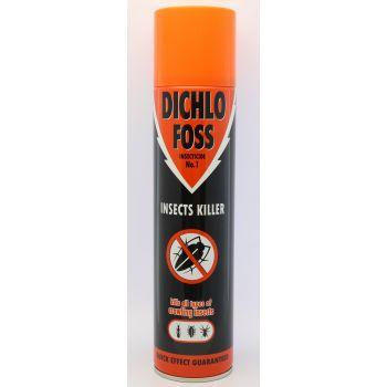4770087501061 Dichlofoss ronivate putukate tõrjeks ruumides 400 ml
