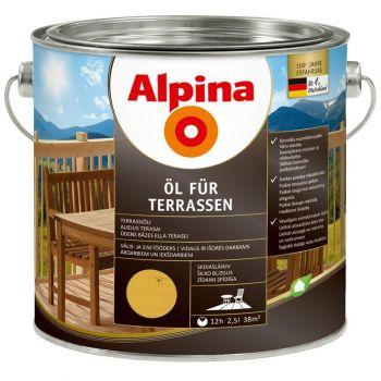 Alpina Öl für Terrassen 2,5L hele