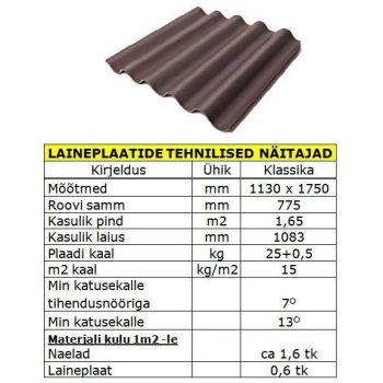 Eterniit 1750x1130cm pruun