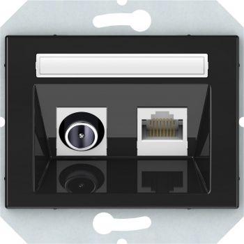 TV-/arvutipesa  raamita maandusega Metall 4779101636802