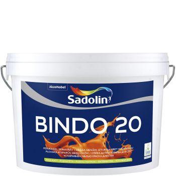 Seinavärv Sadolin Bindo 20 10L, poolmatt, valge (BW)