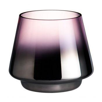 Küünlatops klaasist Drama 10x9cm roosa 6410413197756
