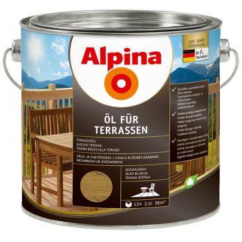 Alpina Öl für Terrassen 2,5L keskmine