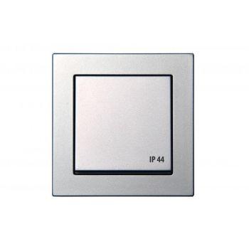 Pistikupesa Epsilon maandusega IP44 metallik 4770025964682