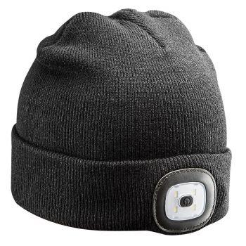 Müts LED-lambiga 150lm, USB laetav