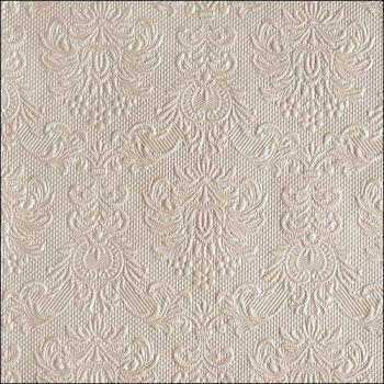 Salvrätik Elecance Pearl Taupe 33x33cm 8712159105476