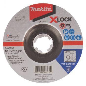 Lihvketas Makita X-LOCK 125x6mm metall 088381555425