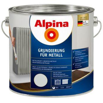 Alpina Grundierung für Metall 2,5L
