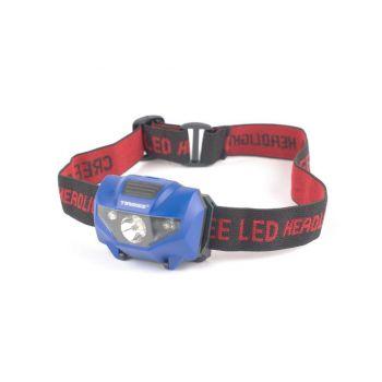 Pealamp Tiross 1W + 2 punane LED TS-1861
