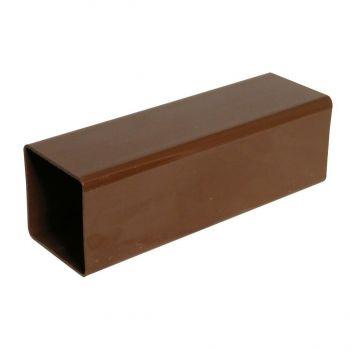 Vihmaveetoru kandiline 65mm 2,5m pruun