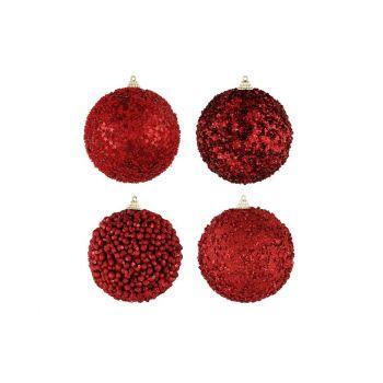 Kuuseehe punane pall 10cm valik