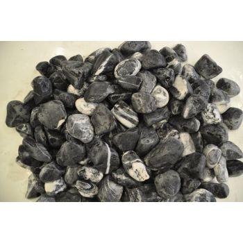 Dekoratiivkivi must-valge 40/60 8kg 4741280151278