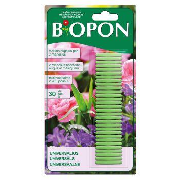 Universaalsed väetisepulgad Biopon 30tk