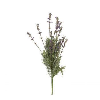 4741243797833 Kunstlill lavendlikimp In Garden 45cm