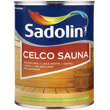 Saunalakk Sadolin Celco Sauna 1L, poolmatt