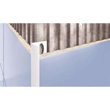 PVC-liistu välisnurk L 101 valge 10mm/2,5m  5907684623011