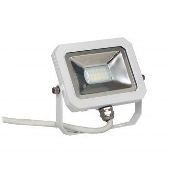Prožektor LED 10W õhuke valge