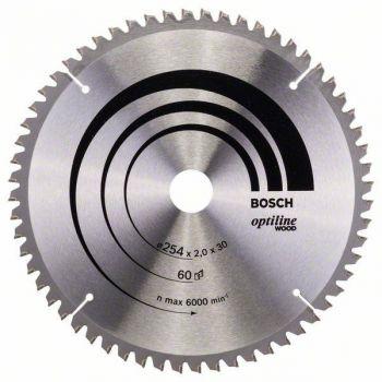 Saeketas Bosch puidule 254x60mm