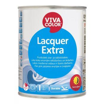 Puidulakk Vivacolor Lacquer Extra poolmatt 9L sise- ja välistöödeks