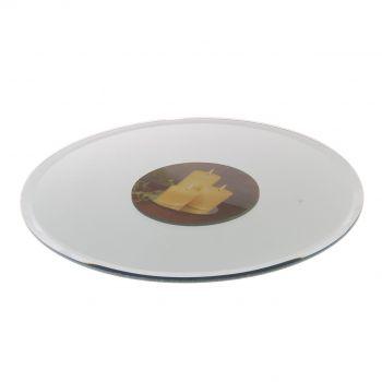 Küünlaalus peegel 25cm