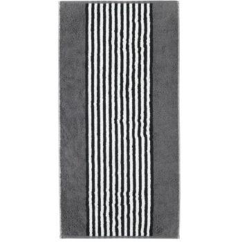 Froteerätik Cawö Black&White 70x140cm must