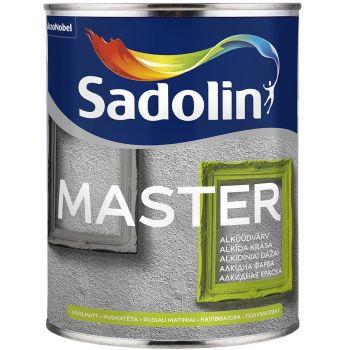 Puidu- ja metallivärv Sadolin Master 30 1L, poolmatt, valge (BW)