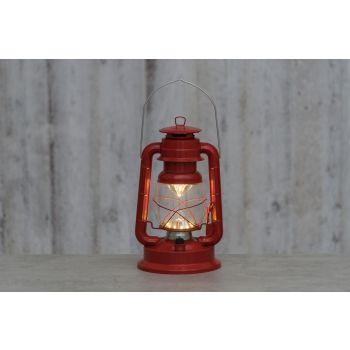 Tormilatern LED 34cm punane