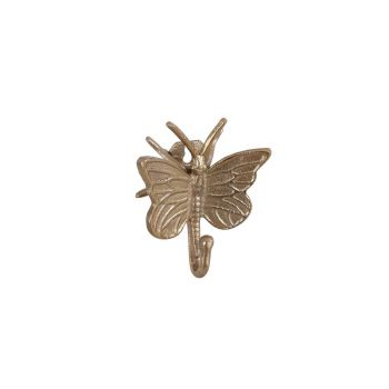 Nagu liblikas kuldne 14 x 12 x 6,5cm