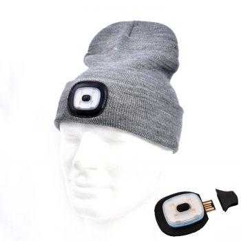 Müts Led-valgustusega 1W USB-laetav hall