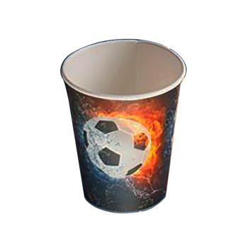 Joogitopsid 250ml 8tk papp Jalgpall