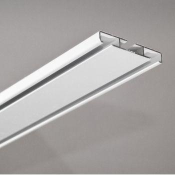 Kardinasiini komplekt Universal 200cm alumiinium valge 4779022162312 Dekorika